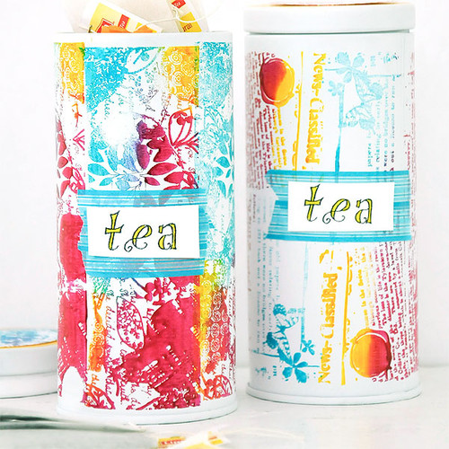 Sweet Summer Tea Tins Project