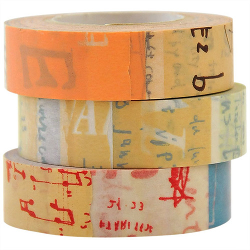 Japanese Washi Tape — Graffiti A