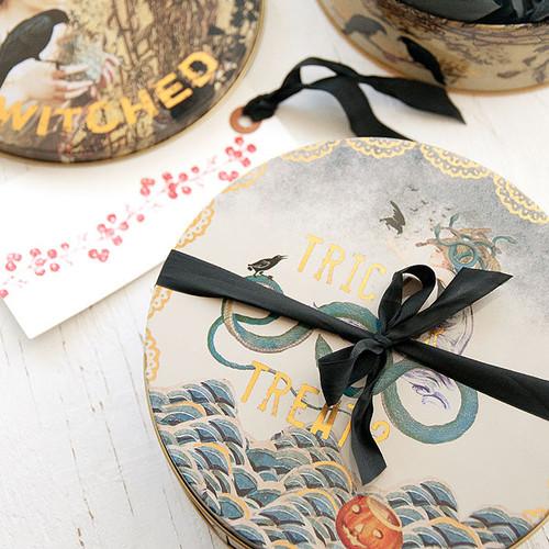 Papaya Art Halloween Tins Packing Project