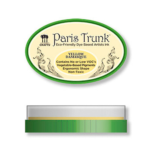 Yellow Damasque — Paris Trunk Dye Ink