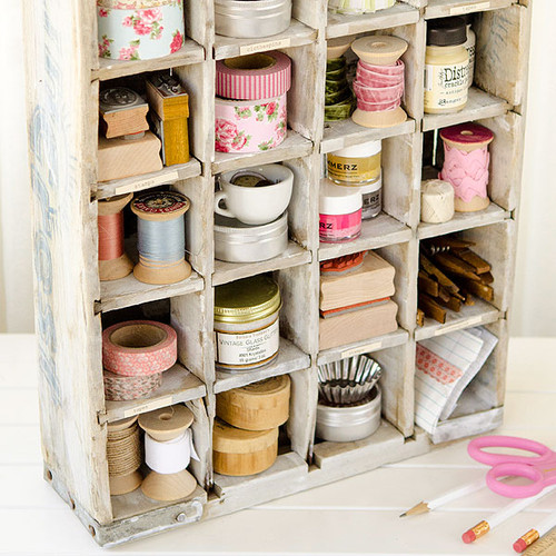 Distressed Vintage Crate Project