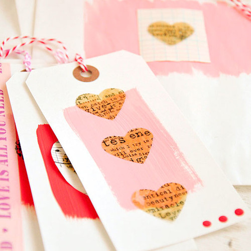 Love Notes— Altered Tags Project by Kristen Robinson