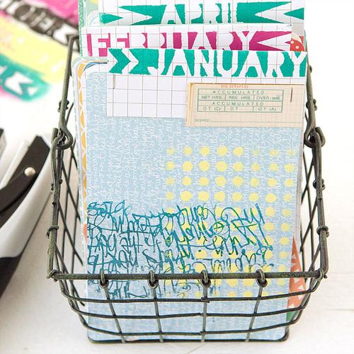 Project Life Calendar Project