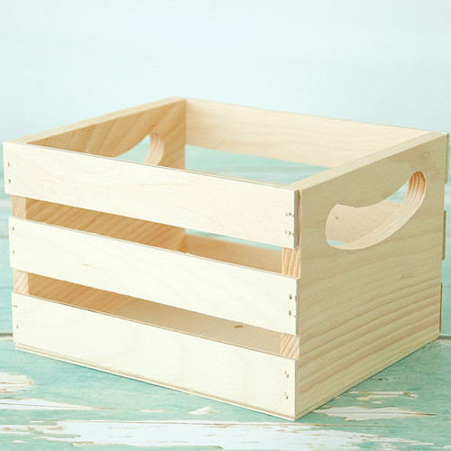 Mini Wood Crate