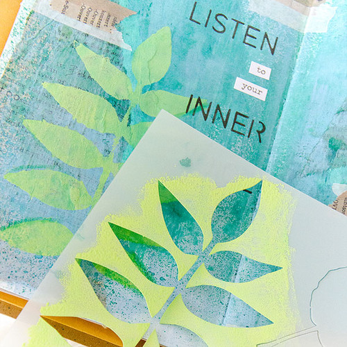 Listen to Your Inner Voice Art Journal Project