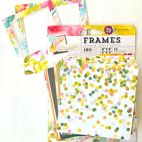 Prima Marketing Insta—scrap — 4 x 4 Frames