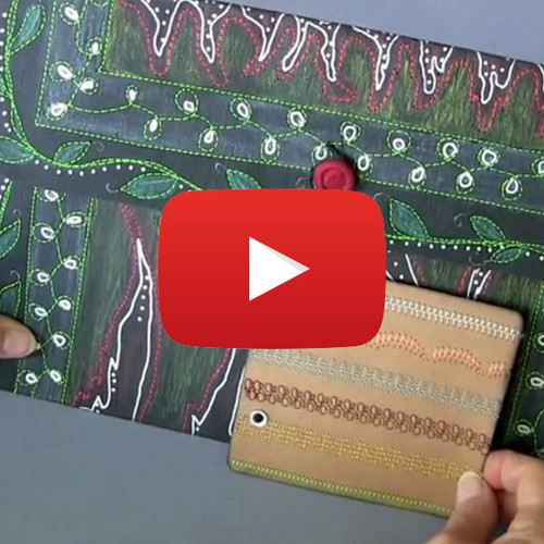 Kraft-Tex— A Kraft Paper That Performs Like Fabric Video by Betsy LaHonta