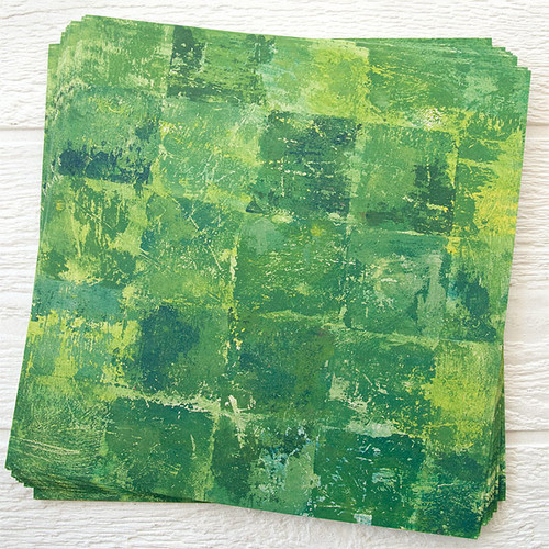 Lynne Perrella Artist Paper Solid Leaf 50 pack