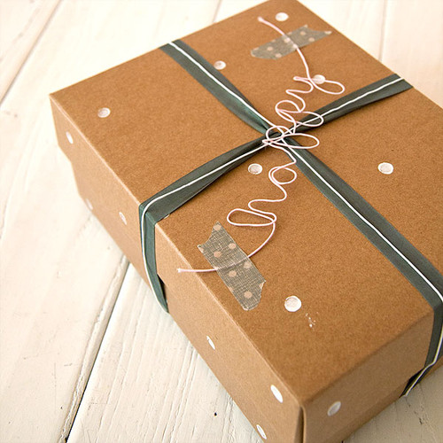 Because I€™m Happy Gift Wrap Project