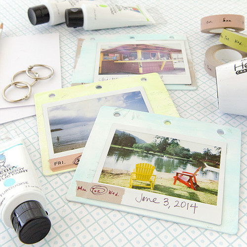 Picture-Perfect Polaroid Mini Book Project by Christen Olivarez