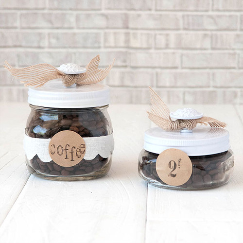 I Heart Coffee Gift Jar Project