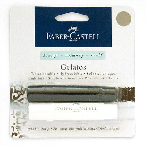 Faber-Castell Mix & Match Gelatos Sticks — Black & White