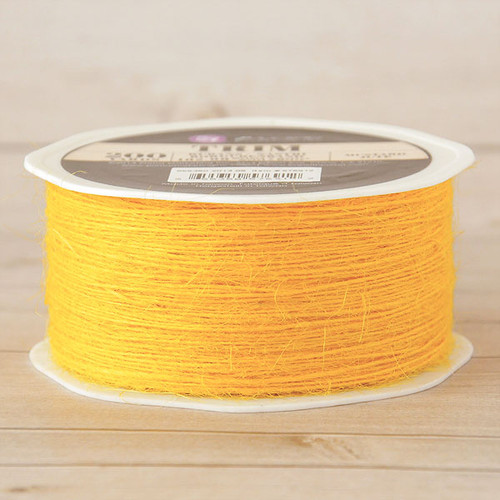 Prima Marketing Jute Trim Mustard — 200 Yards