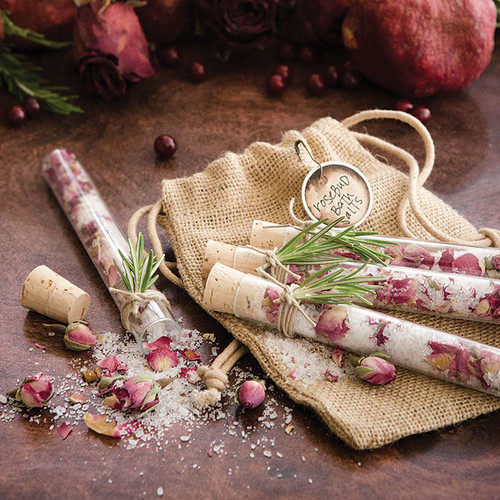 Rosebud Bath Salts DIY by Christen Hammons