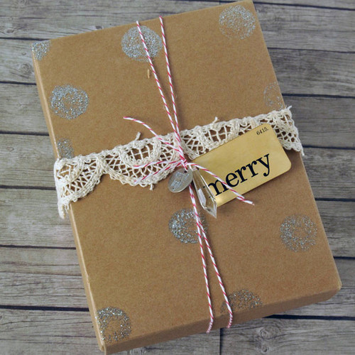 Chandelier Adorned Gift Package Project