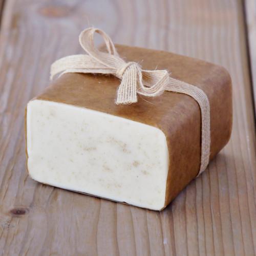 Oatmeal Soap Base — 1 lb Wrapped Bar