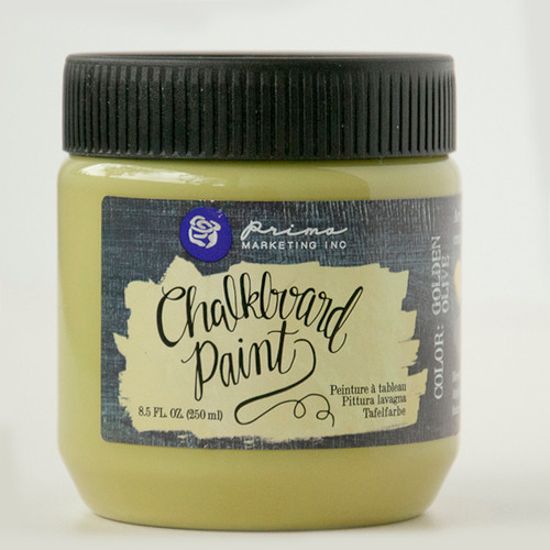 Prima Marketing Chalkboard Paint — Golden Olive