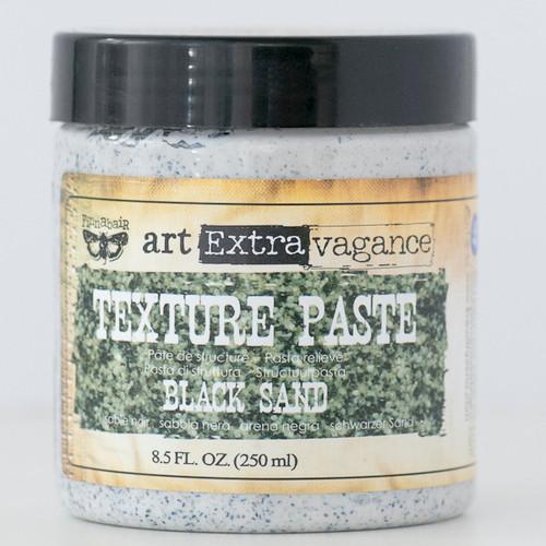 Art Extravagance — Finnabair Texture Paste — Black Sand