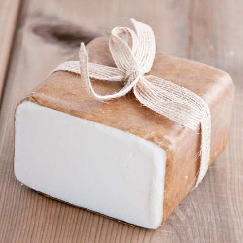 Cocoa Butter Soap Base — 1 lb Wrapped Bar