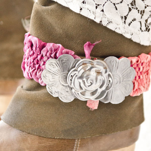 Woven Boot Belt Project by Johanna Love
