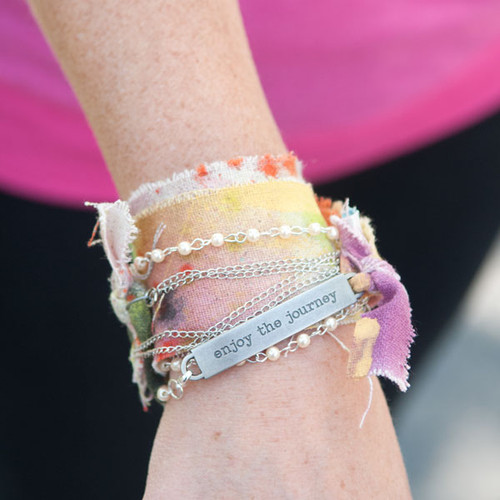 Pearls of Wisdom Bracelet Project by Sarah Donawerth