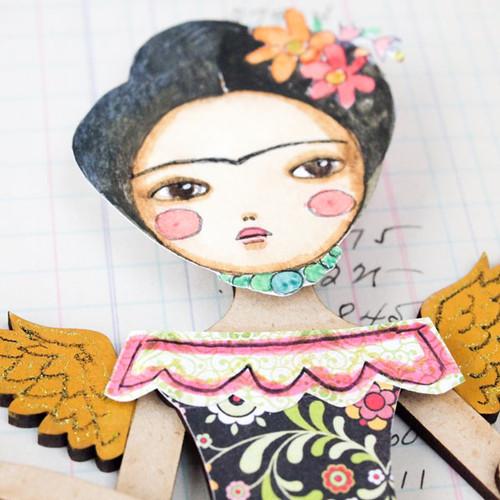 Winged Frida Project by Danita