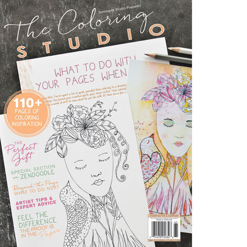 The Coloring Studio Premier Issue — Digital Only