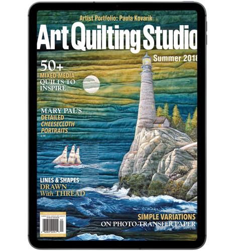 Art Quilting Studio Summer 2016 Digital Edition