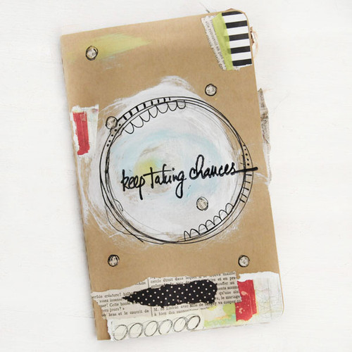 Keep Taking Chances— A Monthly Art Journal Project + FREE Printable