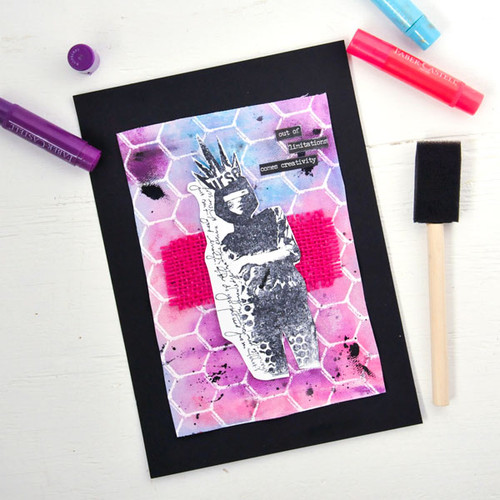 Out of Limitations Comes Creativity Mixed-Media Project