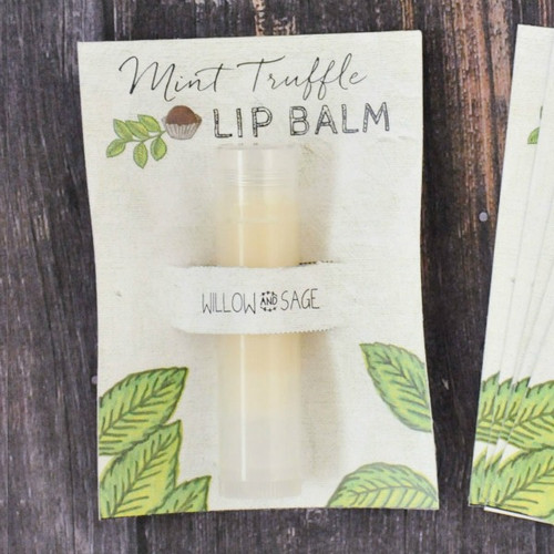 Mint Truffle Lip Balm Project