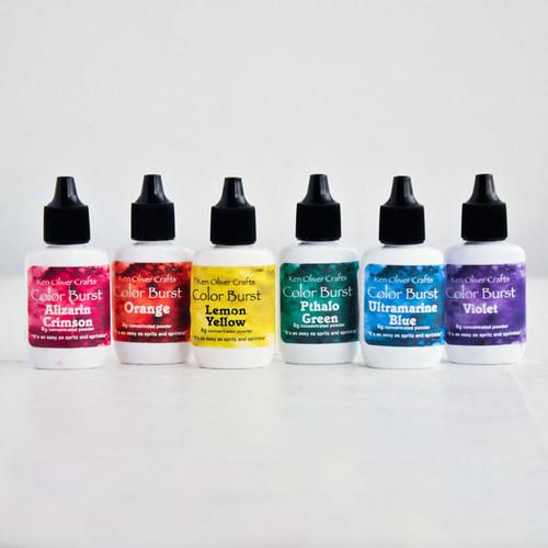Ken Oliver Crafts Color Bursts — Brights 6 Pack