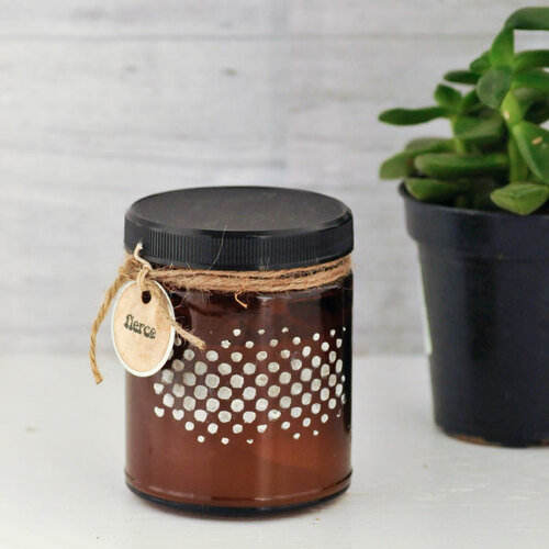 4 Ways to Alter Amber Jars