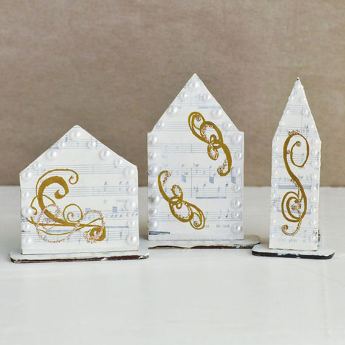 Reversible PaperWhimsy Houses Project Part 2 by Sarah Donawerth