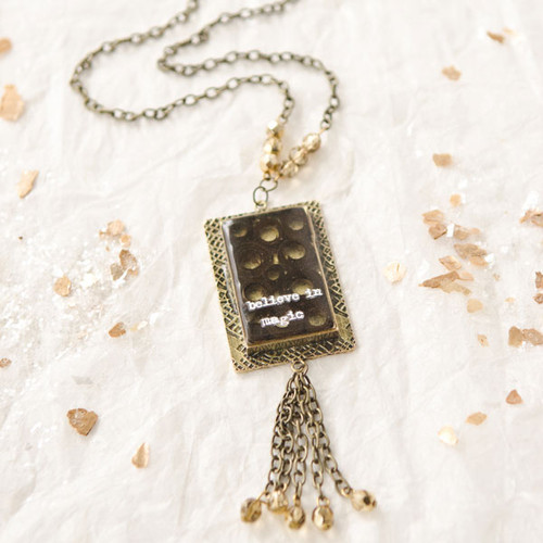 Believe in Magic Necklace by Sarah Donawerth