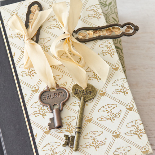 Good As Gold Keychains and Bookmarks Project