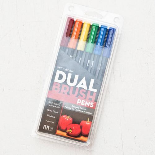 Tombow Dual Brush Pen Set — Primary