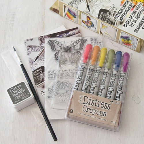 Tim Holtz Watercolor Distress Kit