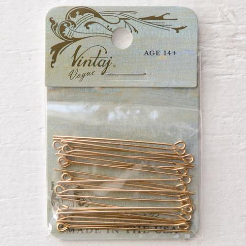 Vintaj Natural Brass Co. Vogue Eye Pin