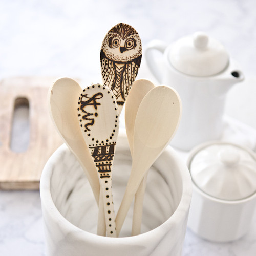 Inspired by Somerset Home: Wooden Spoons Project