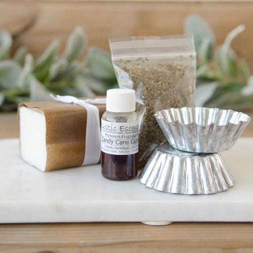 DIY Peppermint Soap—Making Kit