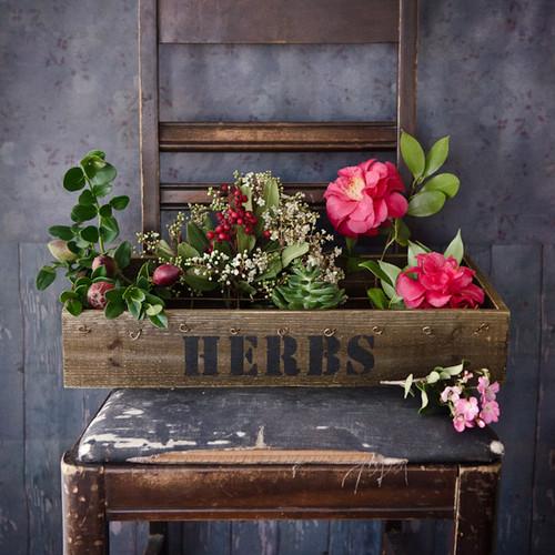Vintage Plant Box— 3 Ways