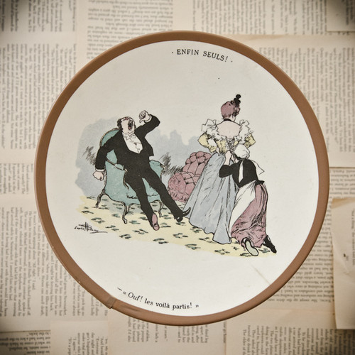 Les Voila Partis! Decorative Plate