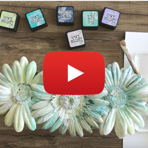 Painterly Watercolor Flowers Video