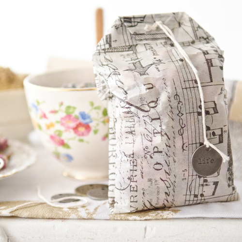 Tea Bag Sachets Project
