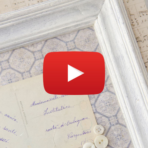 Framed Vintage Postcards Video