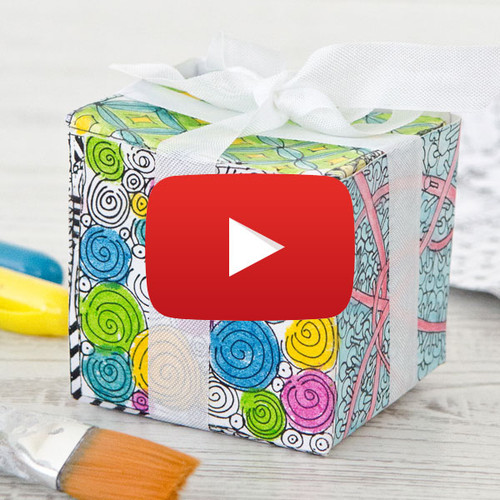 Coloring Book Gift Box Video