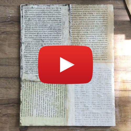 4 Mixed-Media Distressing Techniques Video