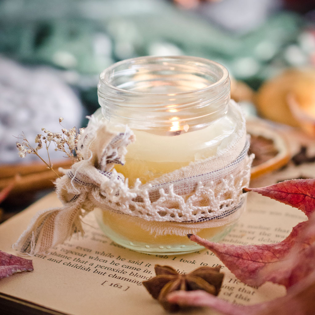 Homemade Fall Candle Blends Stampington Company