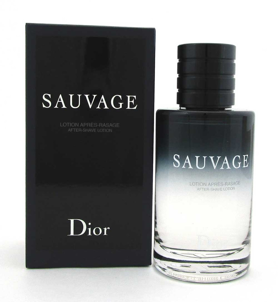 Dior Sauvage by Christian Dior After Shave Lotion Splash 3.4 oz. Men